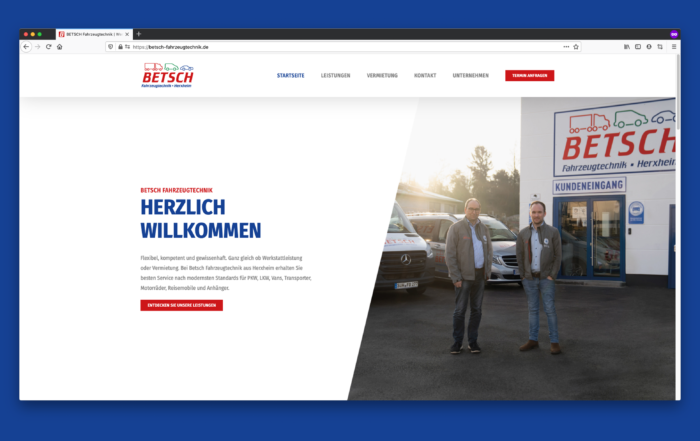 Betsch Herxheim Website