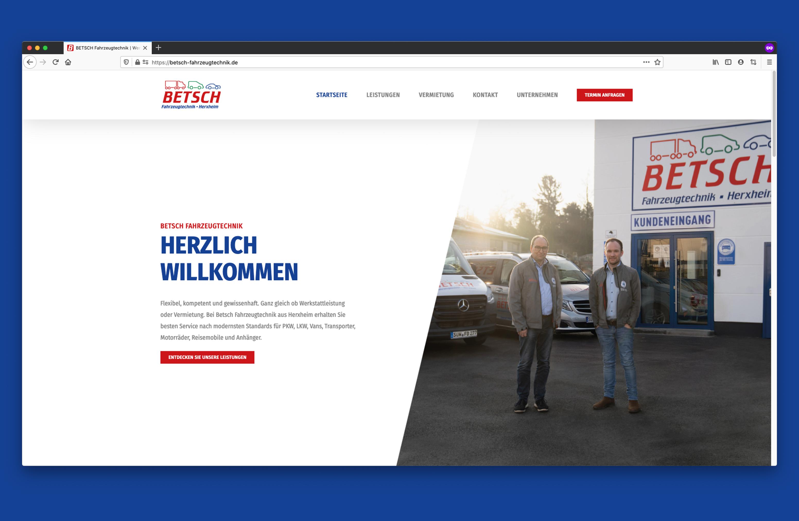 Betsch Herxheim Website