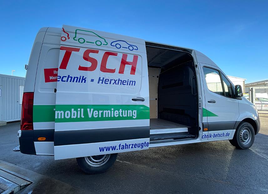 Bestch Fahrzeugtechnik Herxheim Vermietung Transporter