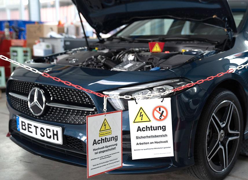 Bestch Fahrzeugtechnik Herxheim Leistungen Hybrid Mercedes