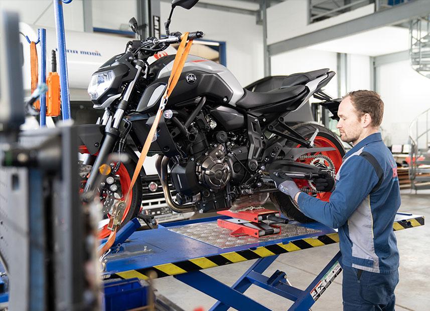 Bestch Fahrzeugtechnik Herxheim Leistungen Zweiräder