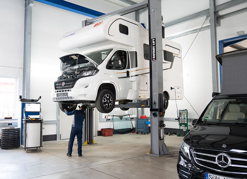 Bestch Fahrzeugtechnik Herxheim Leistungen Reisemobile