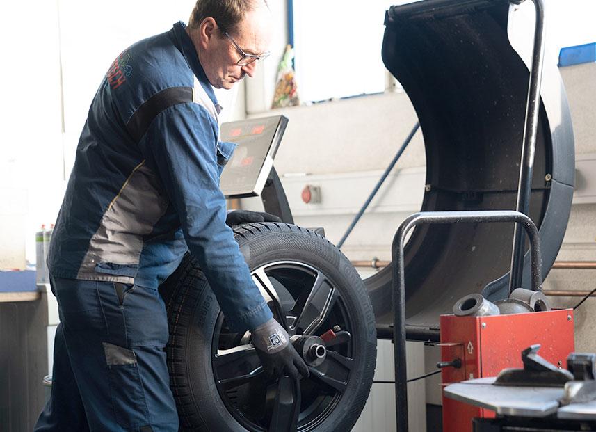 Bestch Fahrzeugtechnik Herxheim Leistungen Reifen