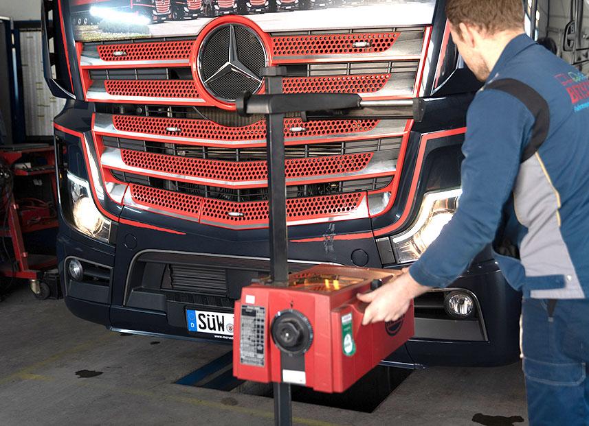 Bestch Fahrzeugtechnik Herxheim Leistungen LKW